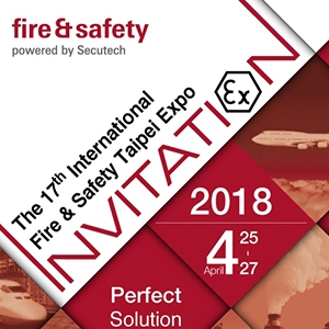 Sun Yeh is exhibitiing at the 17th International Fire & Safety Taipei Expo