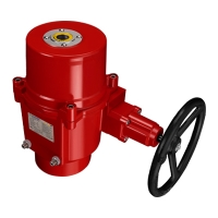 OME-8 Model of Explosion-proof Quarter-Turn Electric Actuators