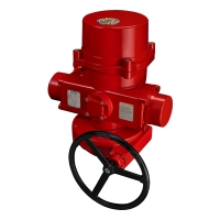 SE-2600 Explosion-proof Spring Return Fail-safe Electric Actuators